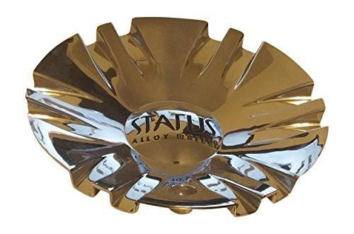 Status Wheels C600301 CAP-S225 Chrome Wheel Center Cap - The Center Cap Store