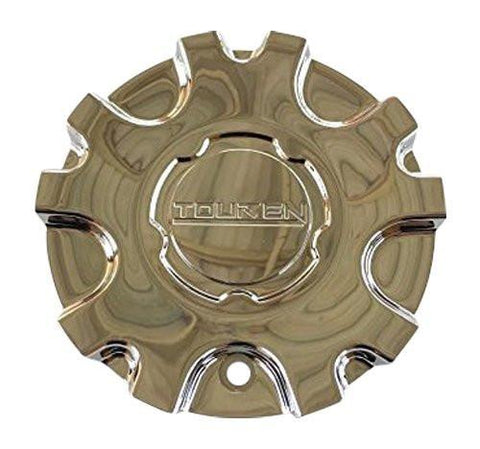 Touren 3150 C103150 C103150C MC3150N101 56491780F-1 Chrome Center Cap - The Center Cap Store