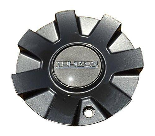 Touren C1032602G Black and Machined Center Cap - The Center Cap Store