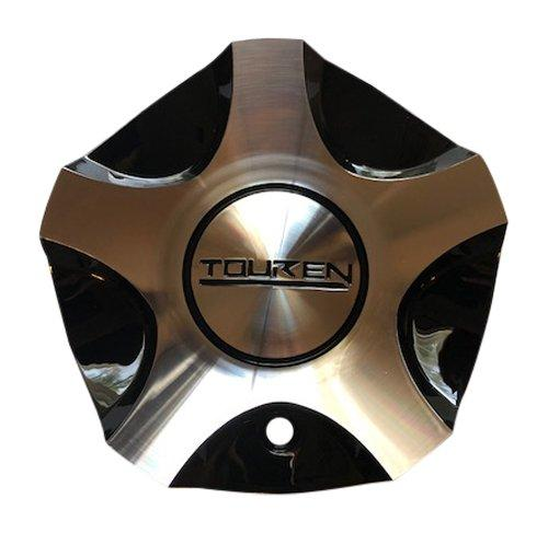 Touren Wheels C1031902M MCD1581YL02 Black and Machined Center Cap - The Center Cap Store