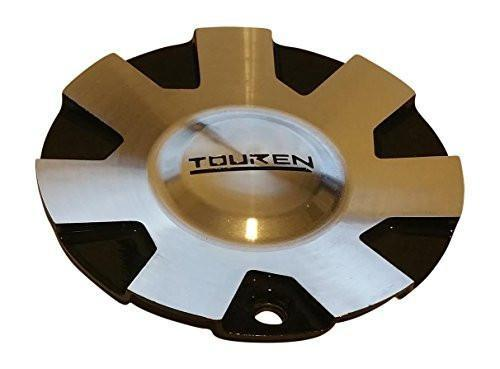 Touren Wheels C1032901M Black and Machined Wheel Center Cap - The Center Cap Store