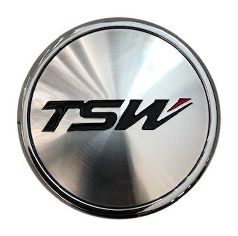 TSW Wheels C-C43-1 PCD120 Machined Wheel Center Cap CCPCC431C 5x120 - The Center Cap Store