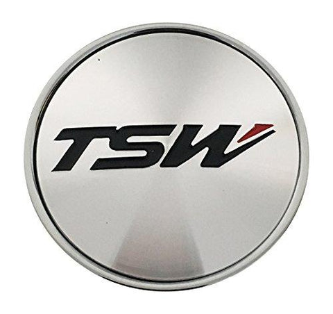 TSW Wheels C-F80 Chrome Wheel Center Cap - The Center Cap Store