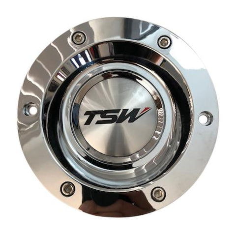 TSW Wheels Holsten PC-E68A PC-E68-2 PCE68A-C Chrome Wheel Center Cap CCHOLC - The Center Cap Store