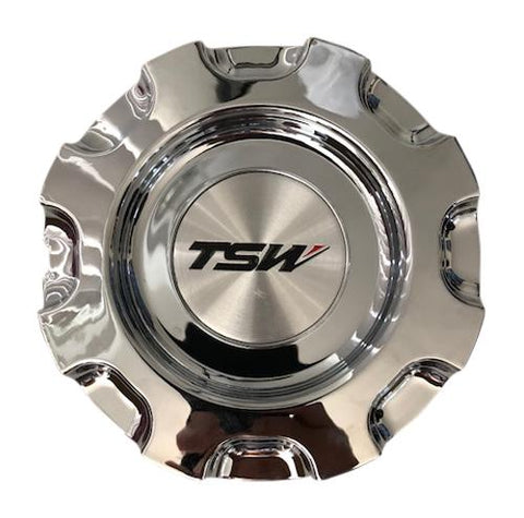 TSW Wheels Kyalami CAP-14301 CT14301C CCKYAC Chrome Center Cap - The Center Cap Store