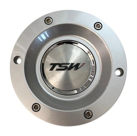 TSW Wheels PC-E68A PC-E68-2 Silver Holsten Center Cap CCHOLS - The Center Cap Store