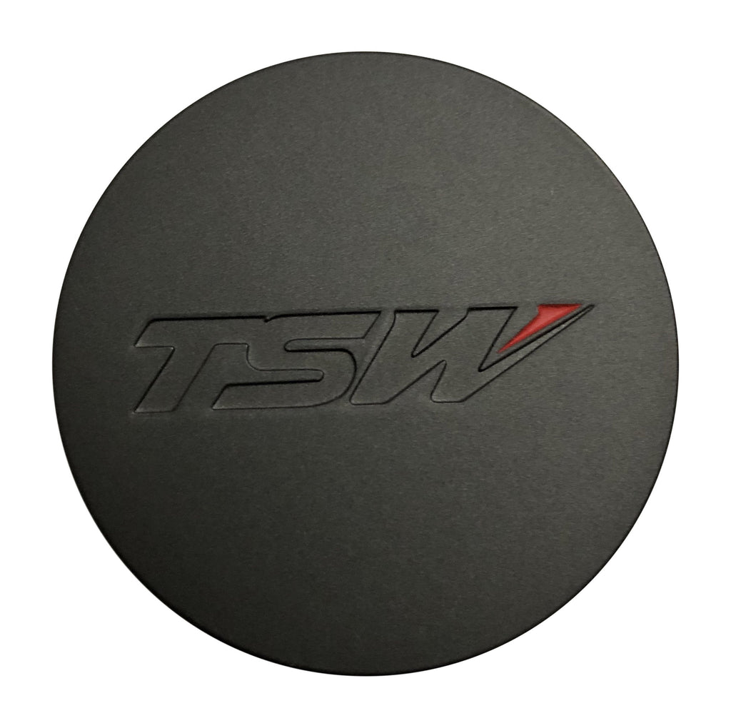 TSW Wheels PCC43-T Charcoal Snap In Center Cap - The Center Cap Store