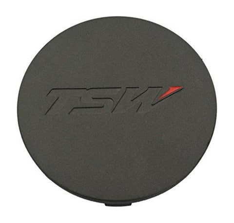 TSW Wheels PCF82-T Charcoal Wheel Center Cap - The Center Cap Store