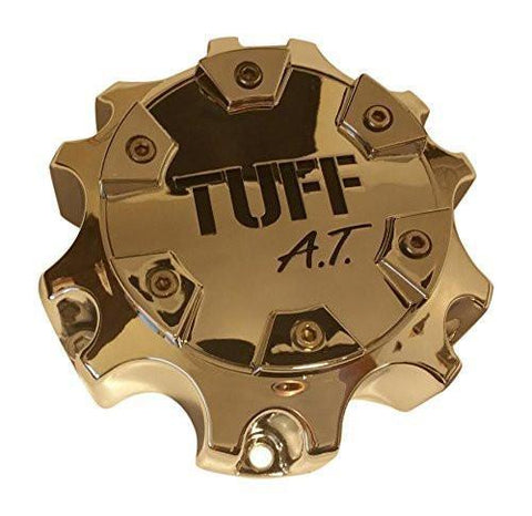 TUFF A.T. C8035-3CAP S813 and C803503CAP/S813 Chrome Wheel Center Cap - The Center Cap Store