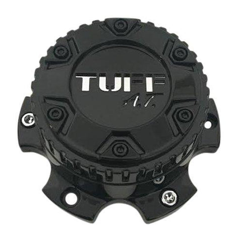 TUFF AT Wheels 2321L128-1 Gloss Black Wheel Center Cap - The Center Cap Store
