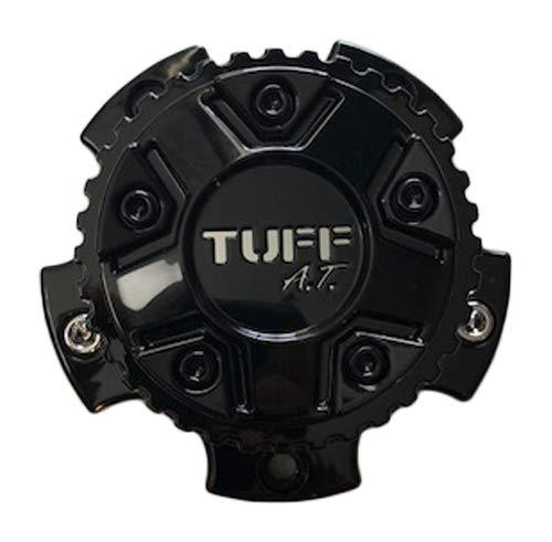 Tuff Wheels T15 2321L116(GB) TT1554GBC 5x114 Gloss Black with Chrome Logo - The Center Cap Store