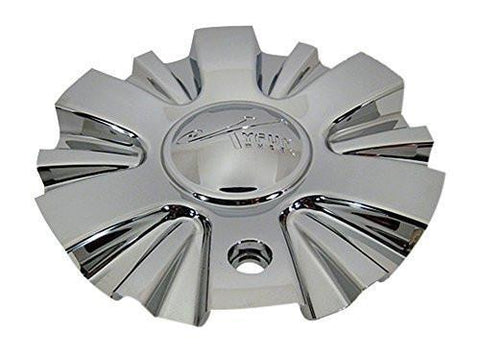 Tyfun 702 CSTF702S-1P Chrome Wheel Center Cap - The Center Cap Store