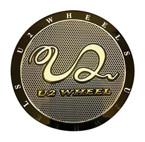 U2 Wheels Replacement Center Cap Sticker 2.25 Inches Appx Across - The Center Cap Store