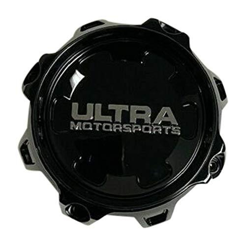 Ultra Motorsports Gloss Black Wheel Center Cap 83182090F-1B A89-0087BK - The Center Cap Store