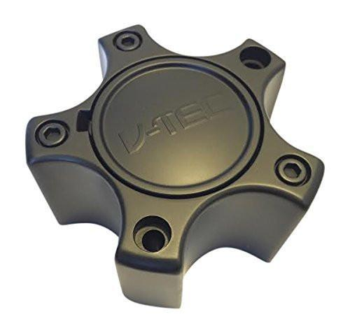V-Tec C372-5C65DOC LG0812-51 Black Wheel Center Cap - The Center Cap Store