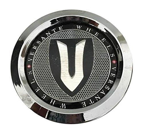 Versante Wheels CCVE65-1P Chrome Wheel Center Cap - The Center Cap Store