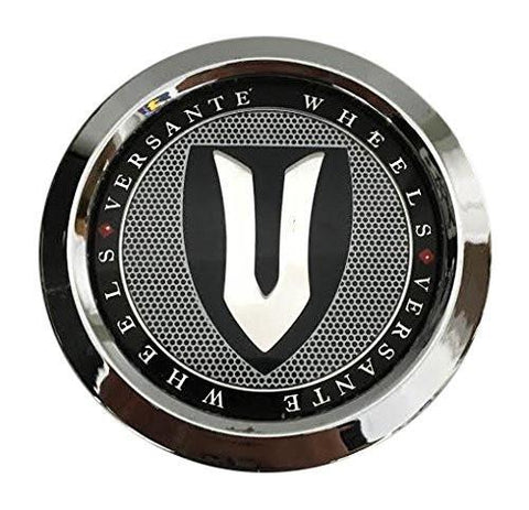 Versante Wheels CCVE70-1P Chrome Wheel Center Cap - The Center Cap Store