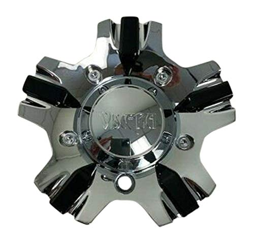 Viscera Chrome Wheel Rim Center Cap CHW1004-CAR-CAP LG0806-33 EMR0770-18-CAP - The Center Cap Store