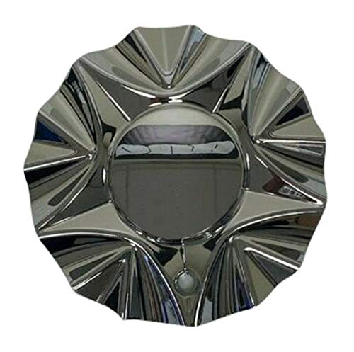 Viscera Chrome Wheel Rim Center Cap EMR0728-TRUCK-CAP LG0611-03 No Logo - The Center Cap Store