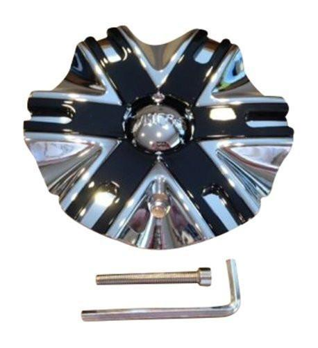 VISCERA WHEEL CAP VISCERA 841 CAP EMR0841-CAR-CAP LG1209-47 Chrome - The Center Cap Store
