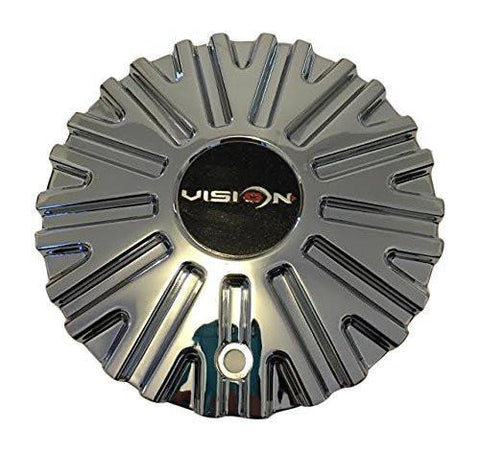 Vision 456 Xtacy C456-CAP Chrome Wheel Center Cap - The Center Cap Store