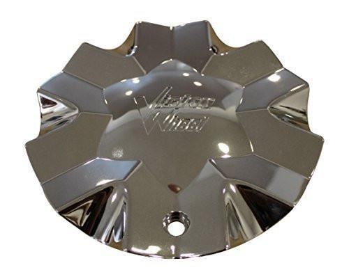 Vision Hollywood 6 Center Cap Chrome 6 Lug C436 New Vision Logo - The Center Cap Store