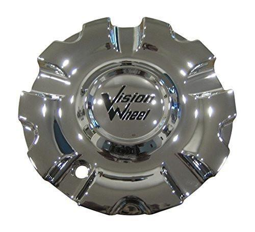 Vision Wheel 381 Avenger Chrome Wheel Rim Center Cap Centercap 381-CAP LG0810-59 - The Center Cap Store