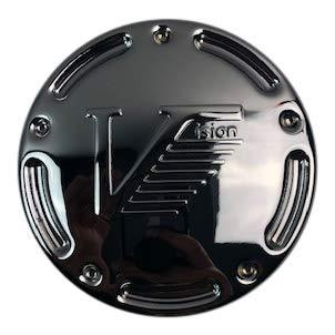 Vision Wheels C181-V V180D Large Embossed Replacement ATV Center Cap - The Center Cap Store
