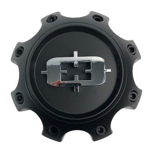 Vision Wheels C415SB-8LV Satin Black Center Cap - The Center Cap Store