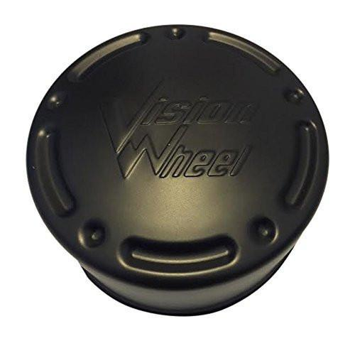 Vision Wheels C715F200 Black Wheel Center Cap - The Center Cap Store