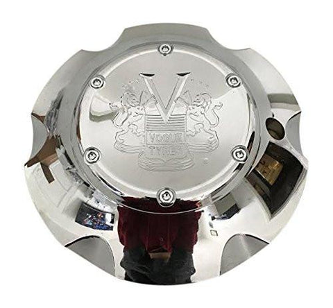 Vogue Tyres 647290F-3 Chrome Wheel Center Cap - The Center Cap Store
