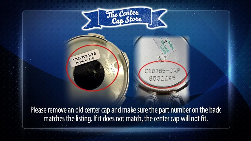 Remove a Center Cap
