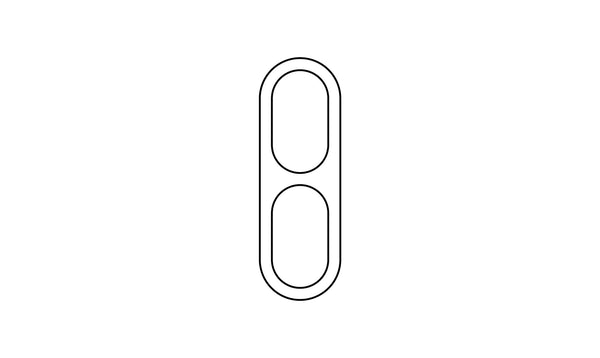 VM-001 House Number Aluminum