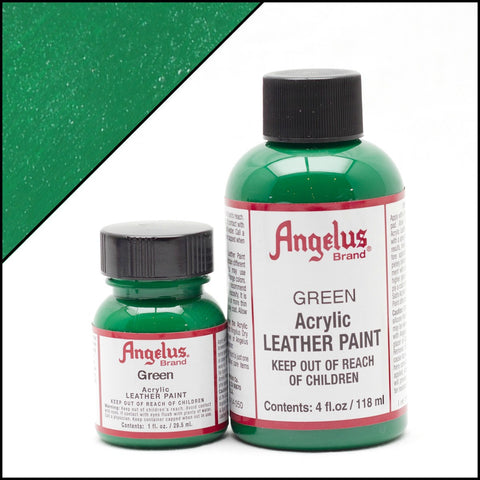 Angelus Leather Acrylic Paint - Green
