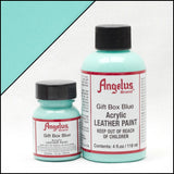Angelus Leather Acrylic Paint -  Gift Box Blue