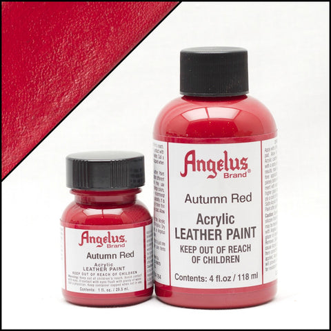 Angelus Leather Acrylic Paint -  Autumn Red