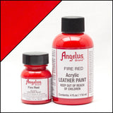 Angelus Leather Acrylic Paint -  Fire Red