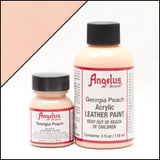 Angelus Leather Acrylic Paint - Georgia Peach