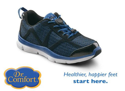 Blue Men's Running - light weight athletic shoes