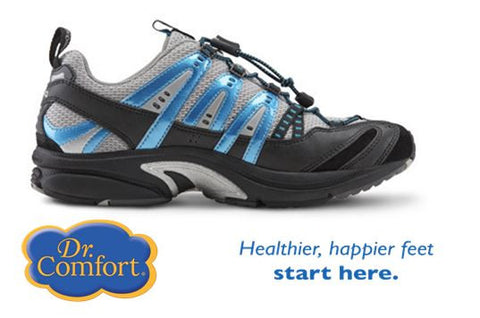 Metallic blue Performance Cross training / hiking shoes