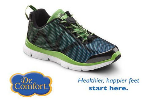 GREEN Lady's Athletic lightweight shoe