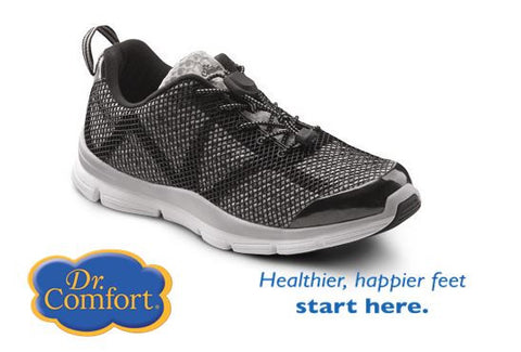 Grey/black  Men's Running - light weight athletic shoes