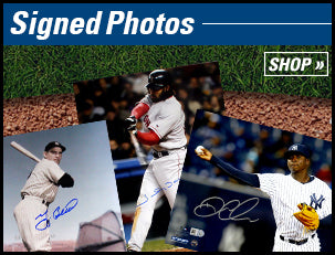 Autographed Baseball Photos