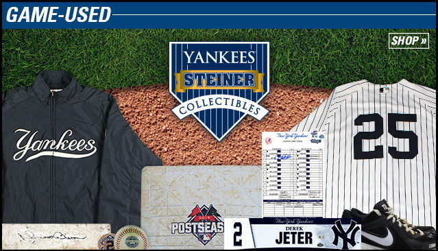 Yankees Steiner Collectibles