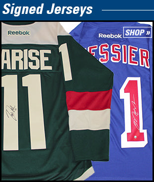 Autographed Hockey Jerseys