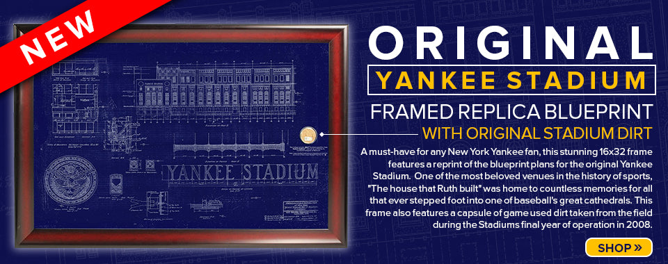 Original Yankee Stadium Blueprint