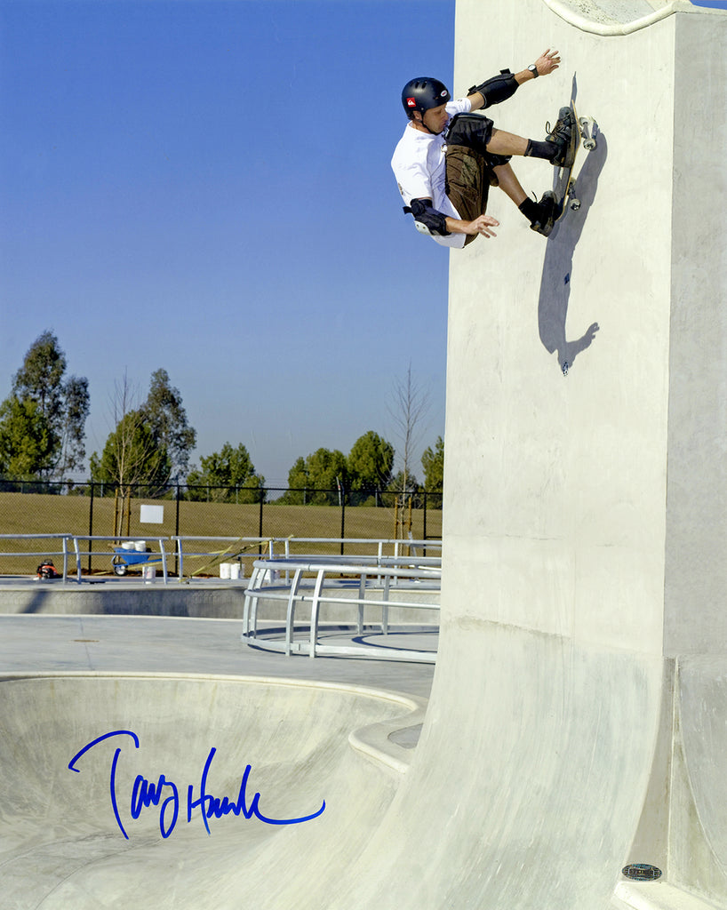 "Tony Hawk Signed 16"" x 20"" Photo"
