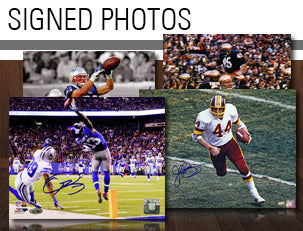 Autographed Football Photos