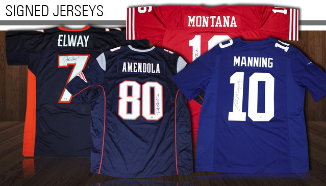Autographed Football Jerseys