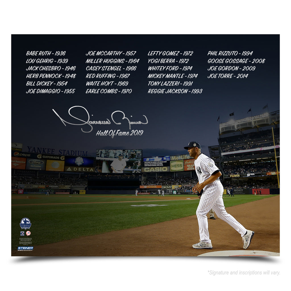 e3eef6cc1 Mariano Rivera Limited Edition Hall of Fame Inscription Photo. Mariano  Rivera New York Yankees Signed ...